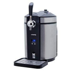 Bierzapfanlage kaufen Test H.Koenig BW1880 Bierzapfanlage / Bierkühler für alle universal, 5 L, edelstahl - 1