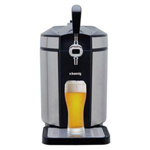 H.Koenig BW1880 Bierzapfanlage / Bierkühler für alle universal, 5 L, edelstahl - 2
